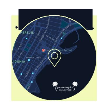 Balbao Avenue Panama Map