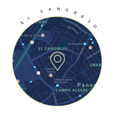 El Cangrejo Panama Map