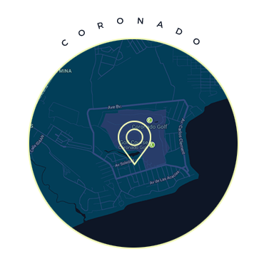 Coronado Panama Map